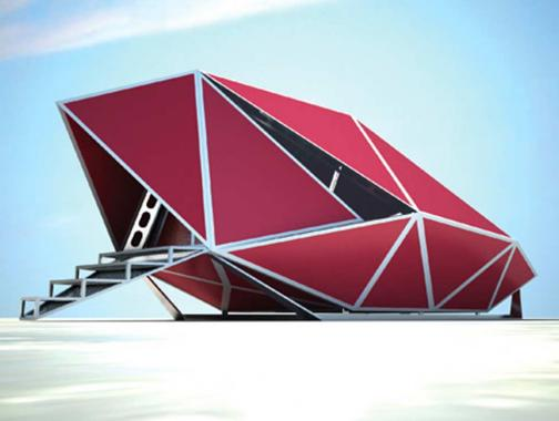 Arctic Perspective Initiative, Open Design Competition, Winning Design by Giuseppe Mecca.