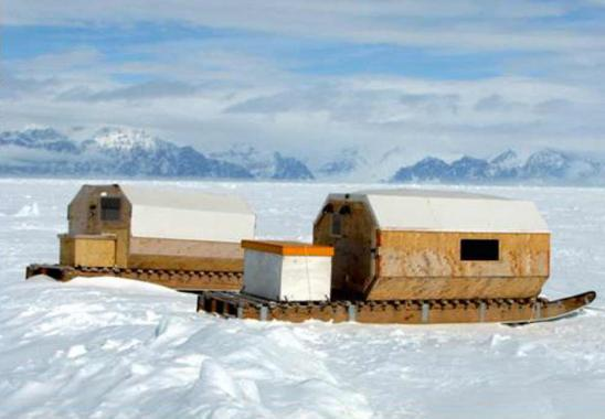 Arctic Perspective Initiative, Open Design Competition, Winning Design by Richard Carbonnier.