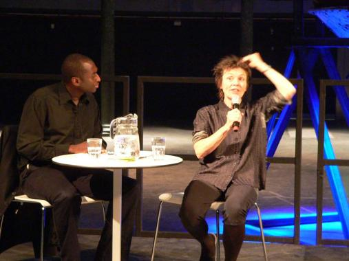 Kodwo Eshun & Laurie Anderson talk at the Roundhouse, 2006