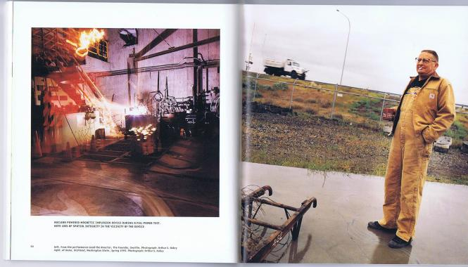 Atomic Book, Inside Spread