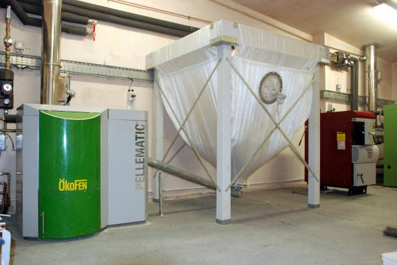 Biomass facility at Centre for Alternative Technology