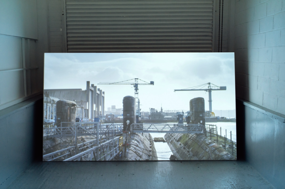 Nick Crowe and Ian Rawlinson, Courageous, Material Nuclear Culture exhibition, 2016